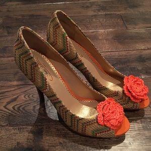 POETIC LICENSE stiletto summer heels size 10 💕